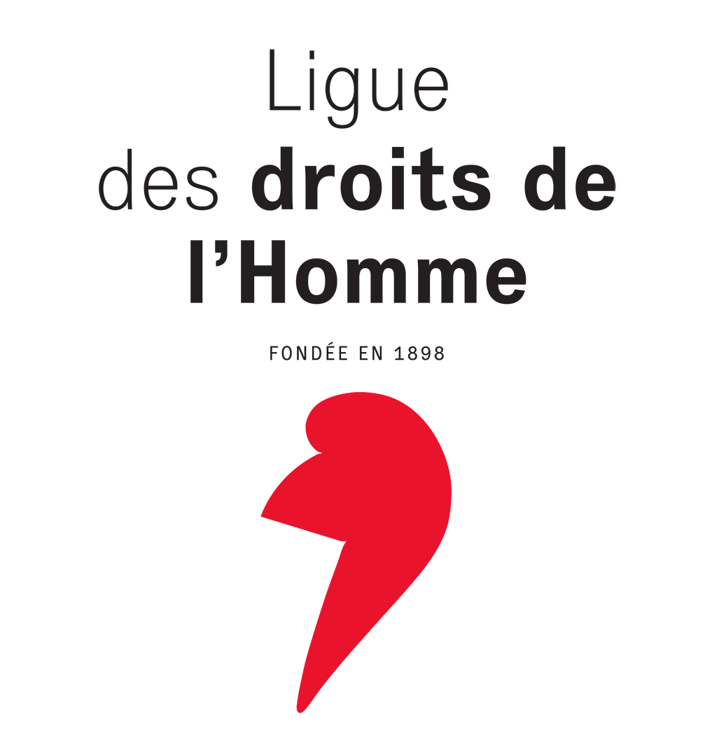 HUMAN RIGHTS LEAGUE (LDH) logo
