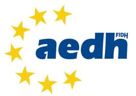 EUROPEAN ASSOCIATION FOR THE DEFENCE OF HUMAN RIGHTS (AEDH) logo