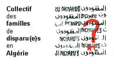 Coalition of Families of the Disappeared in Algeria (CFDA) logo