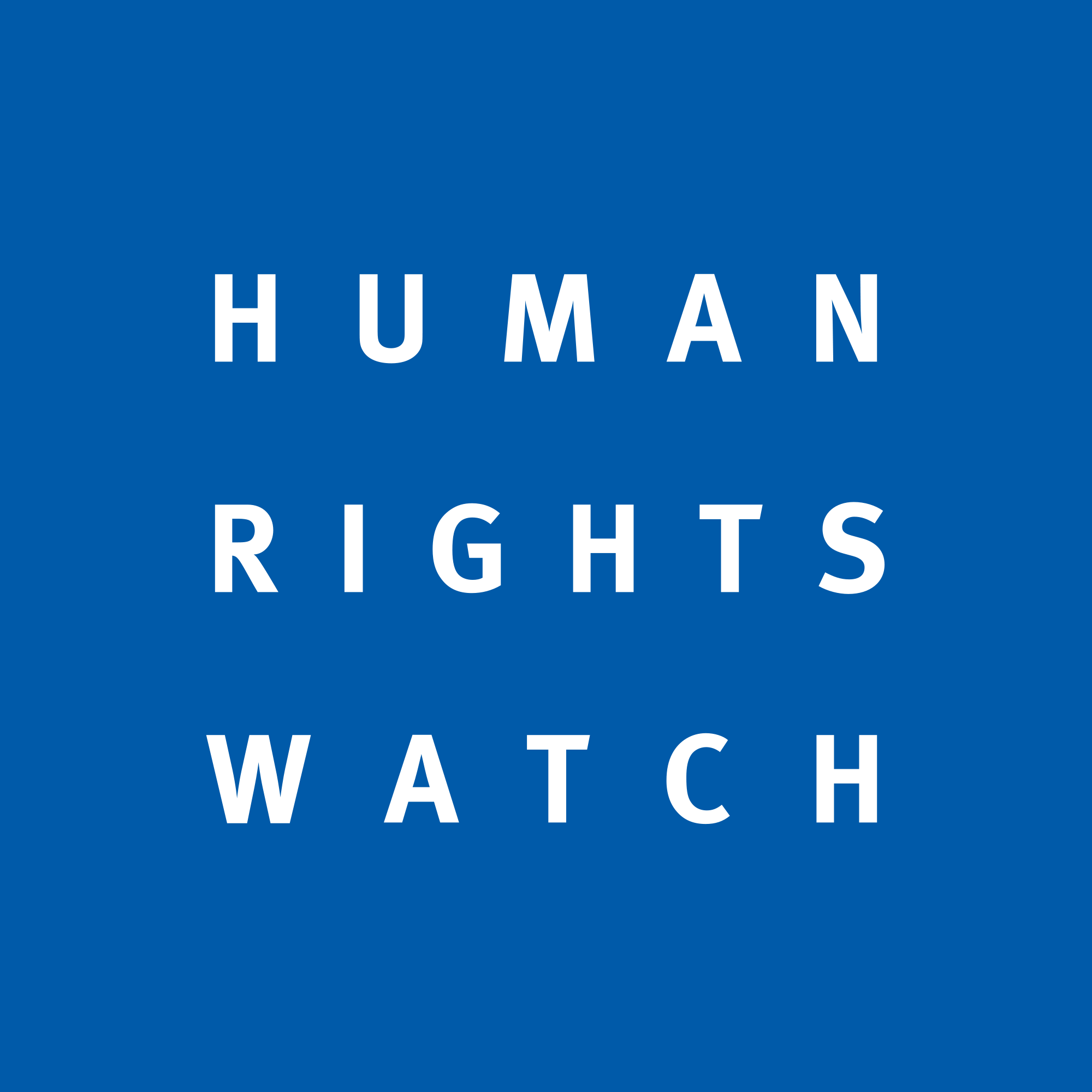HUMAN RIGHTS WATCH (HRW) logo